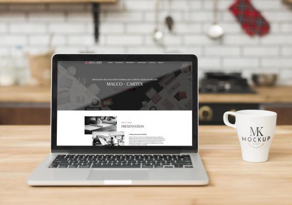 Mauco Cartex créateurs d'emballages, ont choisi Ozanges pour la création de leur site Web